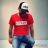cyclist t shirt velojunkie