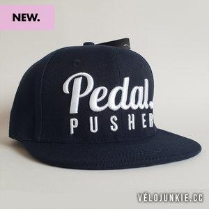 Pedal pusher snapback cap